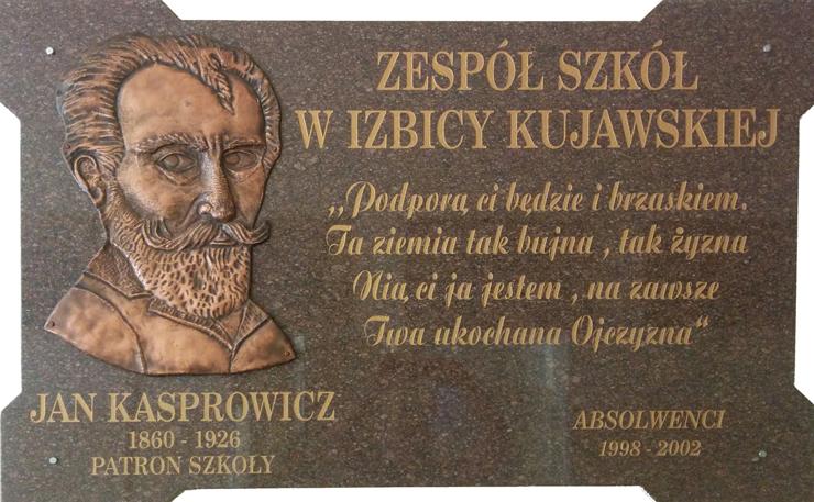 LoIzbica Jan Kasprowicz Tablica